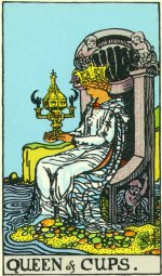 How are you the Queen of Cups?