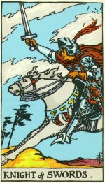 The Four Horsepersons of the Tarot Part 1: The Knight of Swords