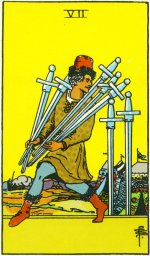 "Dear 7 of Swords: ""WE LOVE YOU!"" Xoxo, Courtney and Friends"