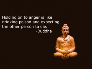I hear this is a fake Buddha quote. Still, it makes sense to me.