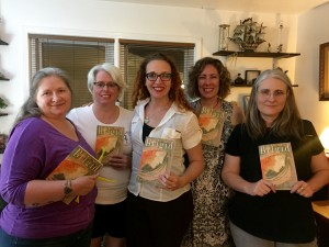 Just a few of the lovely people who attended the private session and bought the book!
