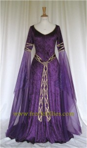 I found this beautiful Wiccan wedding gown on Etsy. It's not what I'm wearing--but someone should. www.frockfollies.com