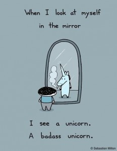 Switch the Unicorn with a sorceress. Never mind. Keep the Unicorn. Lose the ciggy.