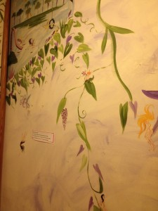 THIS IS THE MURAL IN THE BATHROOM! I WANT THIS MURAL IN MY BATHROOM!