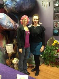 Owner Pearl and me in the Toadstool forest.