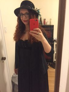 My Stevie Nicks garb!