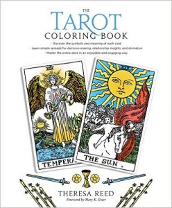 "Theresa Reed's ""The Tarot Coloring Book."""
