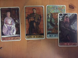 Using Game of Thrones Tarot!