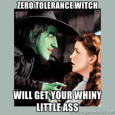 """""""Zero-Tolerance Witch"""""""