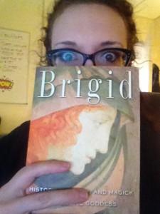 Giving away a copy of Brigid!